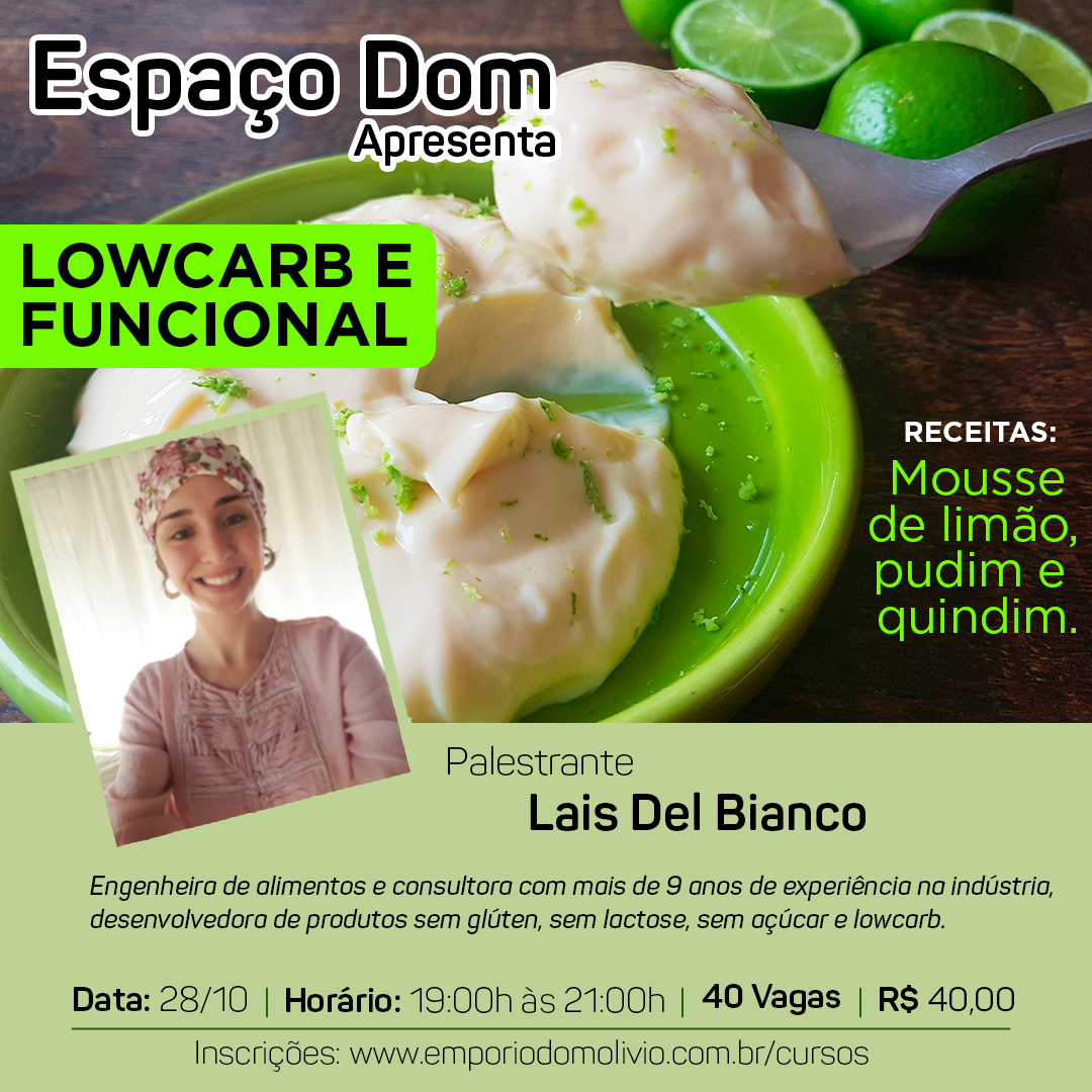 Imagem do curso Low Carb e Funcional